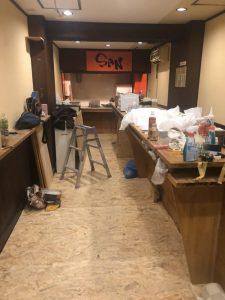 平塚市 立ち飲み屋リフォーム工事